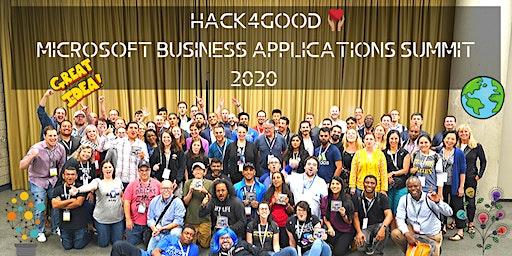 Hack4Good - Microsoft Business Applications Summit - 2020