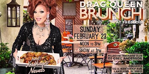 Drag Queen Brunch at Frescos
