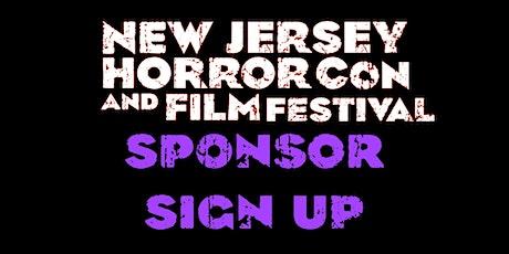 Sponsor NJ Horror Con FALL 2020 tickets