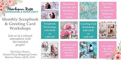 Scrapbook Workshop tickets