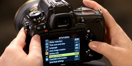 1-2-1 Bespoke Photographic Training - How Does My Camera Work! Nikon