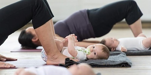Mom & Baby Yoga (4 week series)