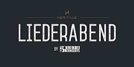 LIEDERABEND in der HERITAGE Bar - Januar Edition Tickets
