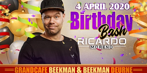 Ricardo Moreno - Birthday Bash