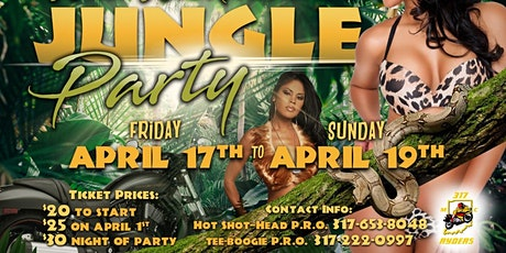 317 Wild Weekend  in the Jungle  tickets