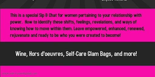 Sip & Chat Relationship w/ POWER