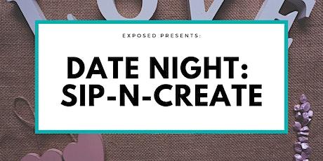 Date Night: Sip-N-Create tickets