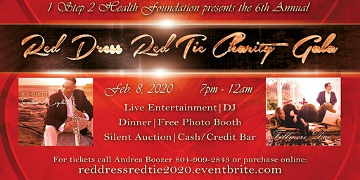 6th Annual Red Dress Red Tie Charity Gala