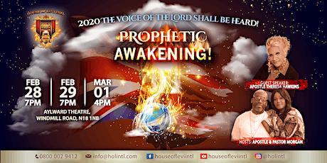 Prophetic Awakening tickets