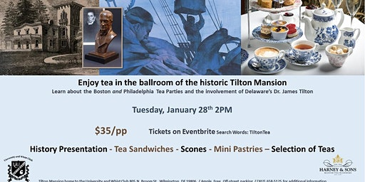 Tilton Tea and History Event-NEW DATE ADDED!