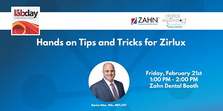 Hands on Tips and Tricks for Zirlux tickets