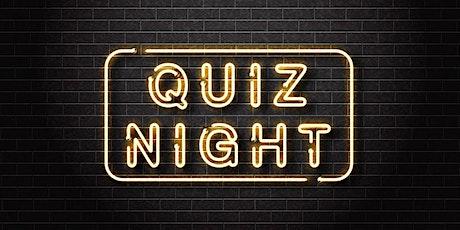 Burger & Quiz Night tickets