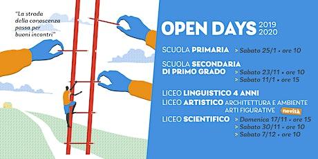 Open Day Primaria La Traccia biglietti