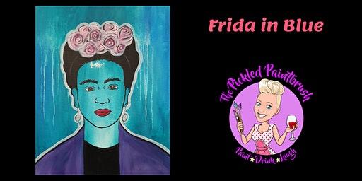 Painting Class - Frida in Blue - January 29, 2020