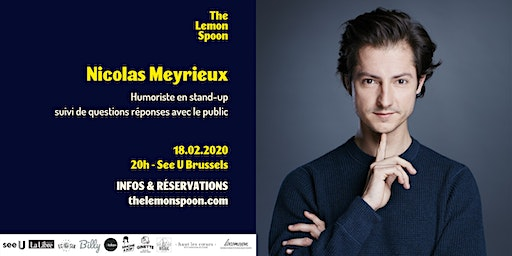 Nicolas Meyrieux en stand-up