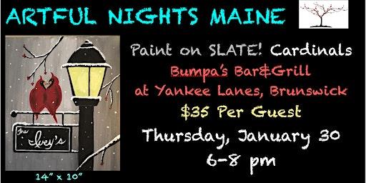 Paint SLATE! Cardinals at Bumpa's at Yankee Lanes