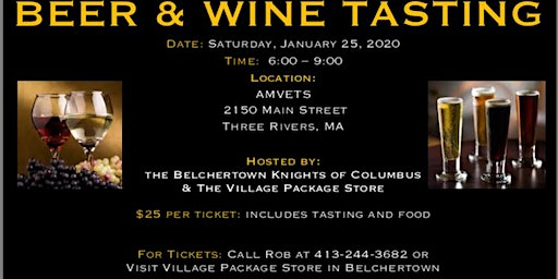 9th Annual Beer and Wine Tasting!