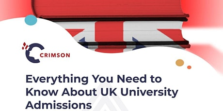 Everything You Need to Know About UK University Admissions tickets