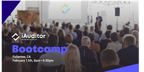 iAuditor Bootcamp tickets