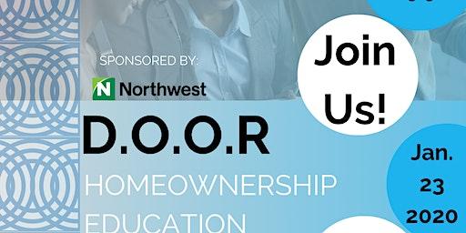 "D.O.O.R Homeownership Workshop: "" Meet a Mortgage Lender"""