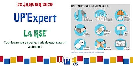 UP'Expert | RSE : Améliorer la performance de son entreprise billets