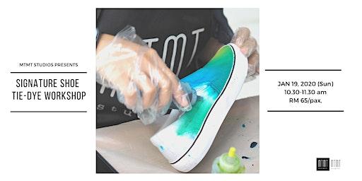 Signature Shoe Tie Dye Workshop