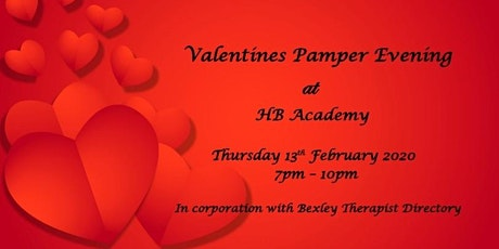 Valentines Pamper Evening tickets