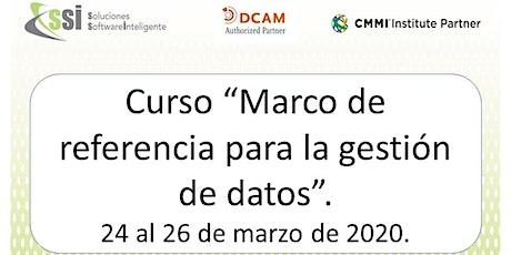 Curso GD01 - Marco de referencia para la gestión de datos boletos