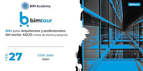 BIMtour: BIM para Arquitectos y profesionales del sector AECO en Jaén entradas