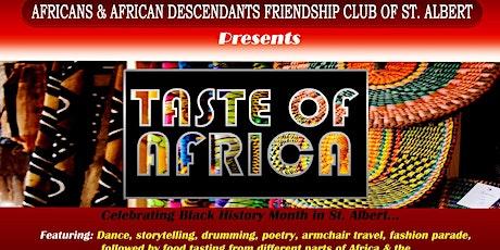Taste Of Africa...Celebrating Black History Month tickets