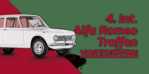 4. Int. Alfa Romeo Treffen (Vortreffen)