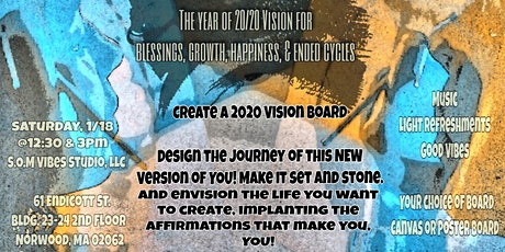 S.O.M 2020 Vision Boards tickets