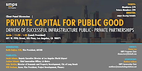 Drivers of Successful Infrastructure Public-Private Partnerships tickets