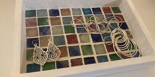"6""x9"" Mosaic Tray Making Workshop!"