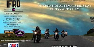 INTERNATIONAL FEMALE RIDE DAY!   East Coast Rally May 1-3, 2020