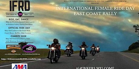 INTERNATIONAL FEMALE RIDE DAY!   East Coast Rally May 1-3, 2020 tickets