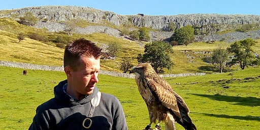 Lunchtime networking with Settle Falconry at Feizor