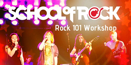 Rock 101 Workshop at School of Rock tickets