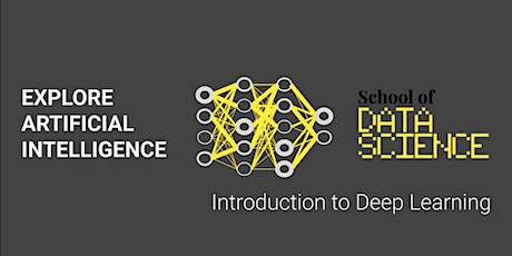Workshop introduction into Deep Learning Amsterdam tickets