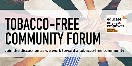 Tobacco-Free Community Forum 2020 tickets