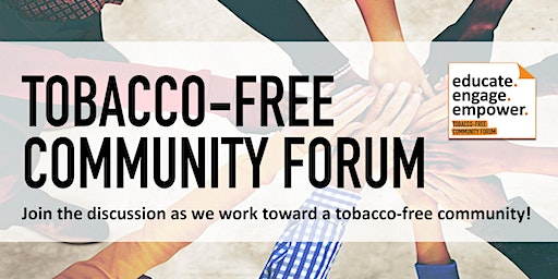 Tobacco-Free Community Forum 2020