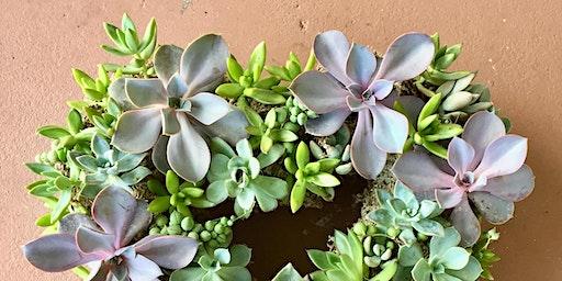 Make-n-Take: Succulent Wreaths