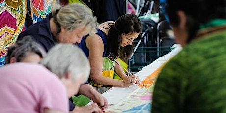 Silk flag design workshop tickets