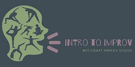Intro to Improv Workshop tickets