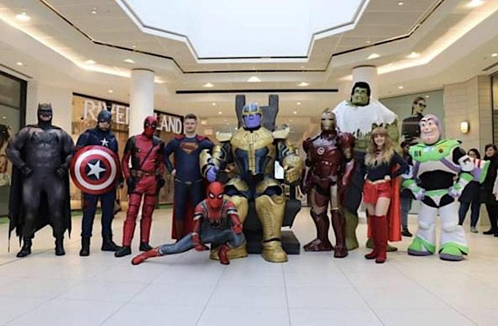 Superheroes Family  Weekender 2021( STRADSETT HALL) image