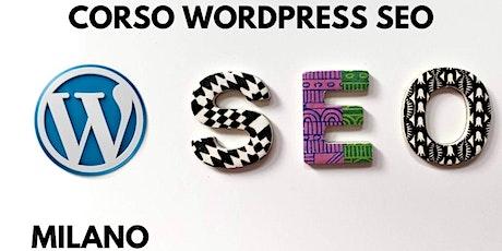 Corso WordPress SEO a Milano biglietti