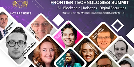Frontier Tech Summit London - AI, Blockchain, Robotics, Digital Securities tickets
