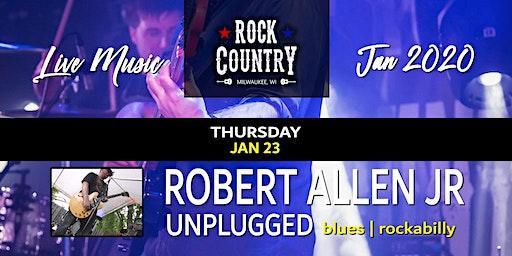 Robert Allen Jr Unplugged at Rock Country!