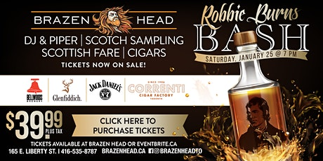 Robbie Burns Bash at Brazen Head tickets