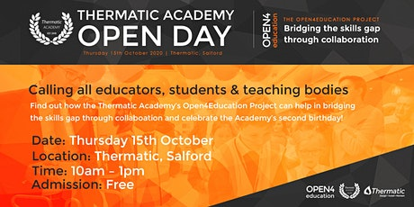 Thermatic Academy Open Day tickets